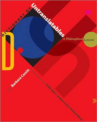 Dictionary of Untranslatables (BOK)