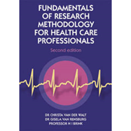 Fundamentals of Research Methodology for Health-care Professionals (BOK)