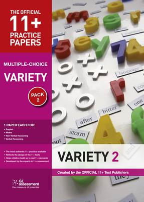 11+ Practice Papers, Variety Pack 2, Multiple Choice (BOK)
