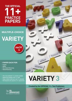 11+ Practice Papers, Variety Pack 3, Multiple Choice (BOK)