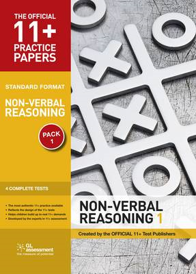 11+ Practice Papers, Non-verbal Reasoning Pack 1, Standard (BOK)