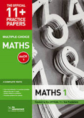 11+ Practice Papers, Maths Pack 2 (Multiple Choice) (BOK)