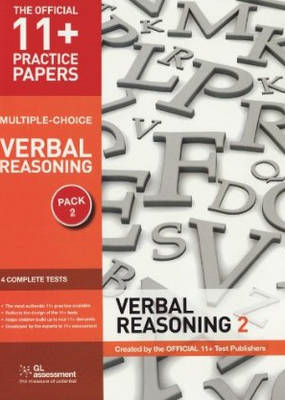 11+ Practice Papers, Verbal Reasoning Pack 2 (Multiple Choic (BOK)
