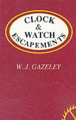 Clock and Watch Escapements (BOK)