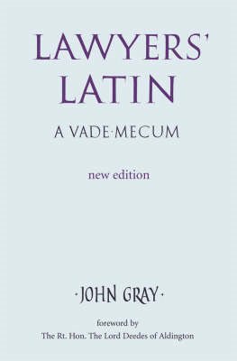 Lawyer's Latin (BOK)
