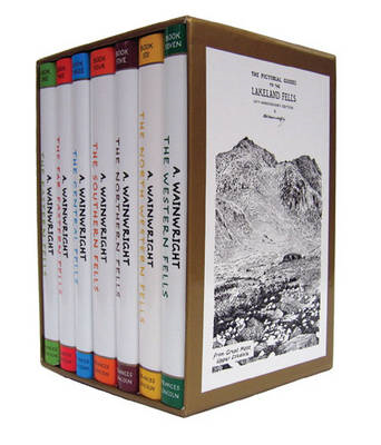 Complete Boxed Set of Pictorial Guides to the Lakeland Fells (Lake District & Cumbria): No. 1-7 (BOK)