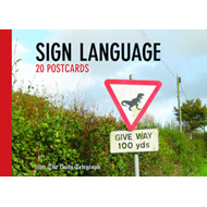 Daily Telegraph Sign Language Postcard Book (BOK)