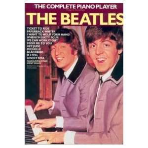 The Complete Piano Player: The Beatles (BOK)