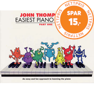 Produktbilde for John Thompson's Easiest Piano Course 1 - Revised Edition (BOK)