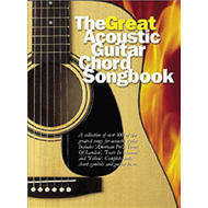Great Acoustic Guitar Chord Songbook (BOK)