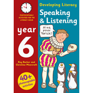 Speaking and Listening: Year 6: Photocopiable Activities for the Literacy Hour (BOK)