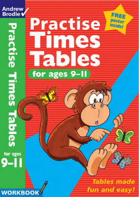 Practise Times Tables for Age 9-11 (BOK)