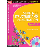 Sentence Structure and Punctuation - Ages 7-8: 100% New Developing Literacy: Year 3 (BOK)