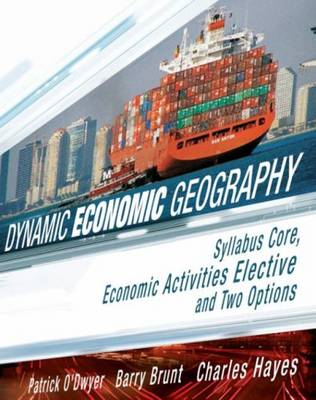 Dynamic Economic Geography: Syllbus Core, Economic Activities Elective and Two Options (BOK)