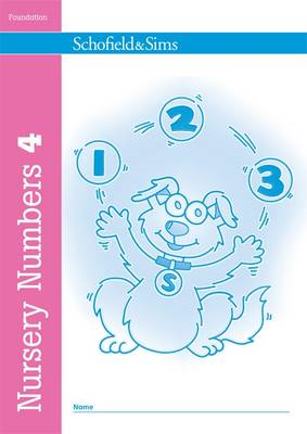 Nursery Numbers Book 4 (BOK)