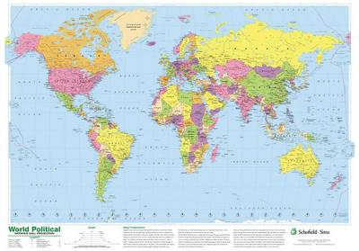 World Political Map (BOK)