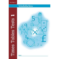 Times Tables Tests Book 1 (BOK)