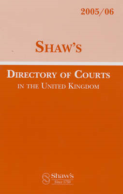 Shaw's Directory of Courts in the United Kingdom (BOK)