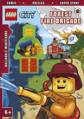 LEGO CITY: Forest Fire Brigade Activity Book with Minifigure (BOK)