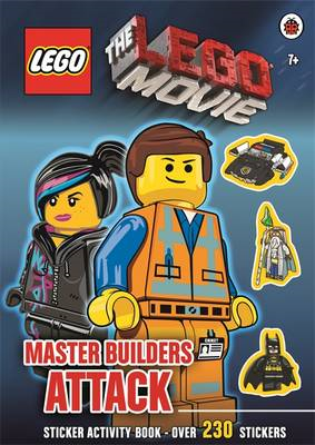 The Lego Movie: Master Builders Attack Sticker Book (BOK)