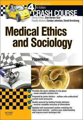 Crash Course Medical Ethics and Sociology Updated Print + eB (BOK)