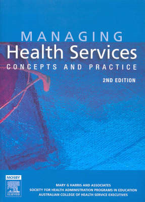Managing Health Services (BOK)