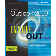 Microsoft  Outlook 2010 Inside Out (BOK)