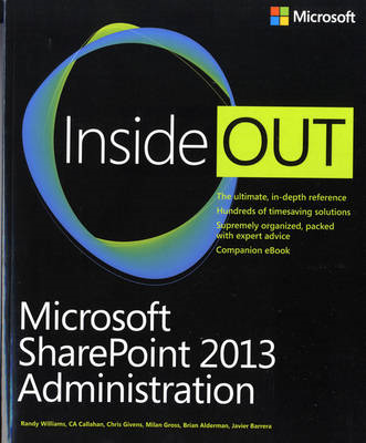 Microsoft SharePoint 2013 Administration Inside Out (BOK)