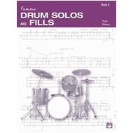 Drum Solos and Fill-Ins for the Progressive Drummer, Bk 2 (BOK)