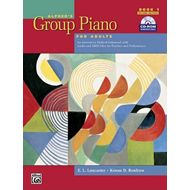 Alfred's Group Piano for Adults Student Book, Bk 1: An Innovative Method Enhanced with Audio and MID (BOK)