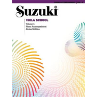 Suzuki Viola School, Vol 5: Piano Acc. (BOK)