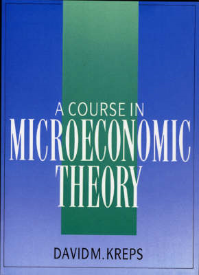 A Course in Microeconomic Theory (BOK)