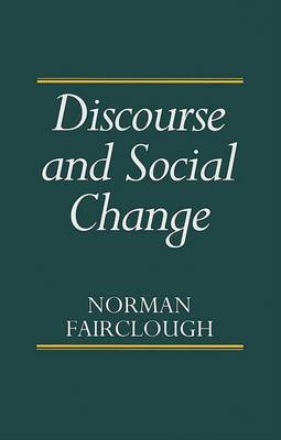 Discourse and Social Change (BOK)