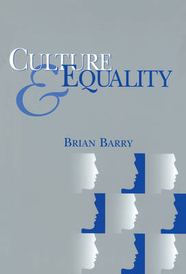 Culture and Equality (BOK)