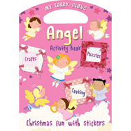 My Carry-along Angel Activity Book: Activity Book with Stickers (BOK)