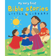 My Very First Bible Stories Little Library (BOK)