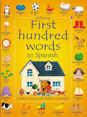 First 100 Words in Spanish (BOK)