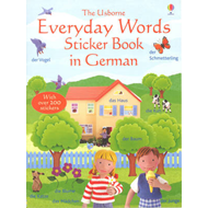 Everyday Words In German Sticker Book (BOK)