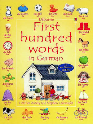 First Hundred Words in German (BOK)