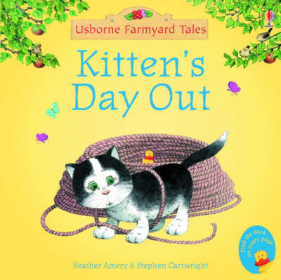 Kitten's Day Out Sticker Storybook (BOK)