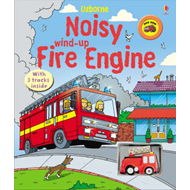 Noisy Wind-Up Fire Engine (BOK)