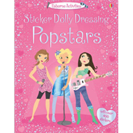 Sticker Dolly Dressing Popstars (BOK)