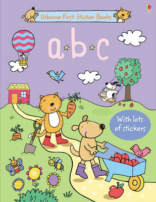 ABC Sticker Book (BOK)