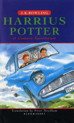 Harry Potter and the Chamber of Secrets (BOK)