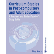 Curriculum Studies in Post-Compulsory and Adult Education (BOK)