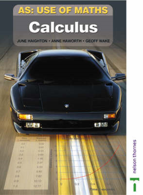 AS Use of Maths: Calculus: Modelling with Calculus (BOK)