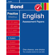 Bond Second Papers in English 8-9 Years (BOK)