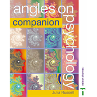 Angles on Psychology: Companion AS Edexcel (BOK)