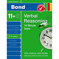 Bond 10 Minute Tests Verbal Reasoning 9-10 Years (BOK)