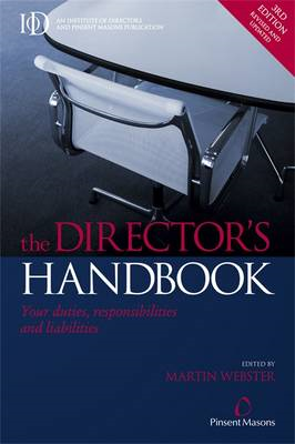 The Director's Handbook: Your Duties, Responsibilities and Liabilities (BOK)